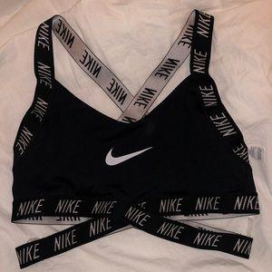 Nike backless sports bra
